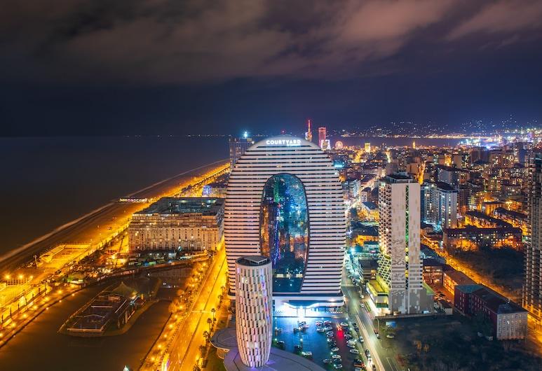 Orbi City Hotel Official, Batumi, Hotel Front – Evening/Night