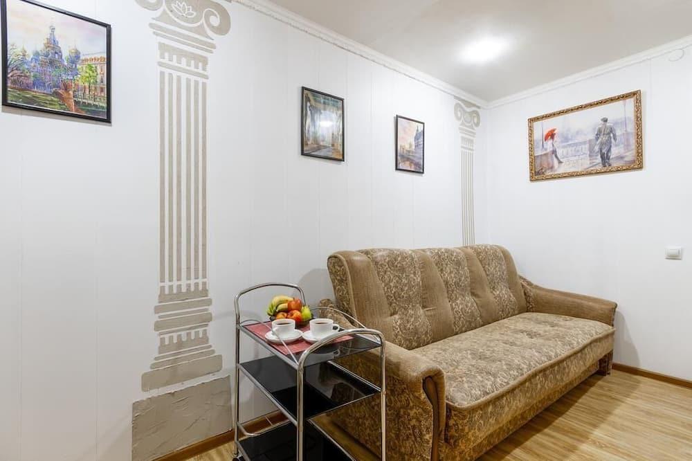 아파트, 침실 3개 - 거실 공간