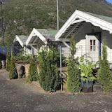 Basic-Ferienhütte, Gemeinschaftsbad - Terrasse/Patio