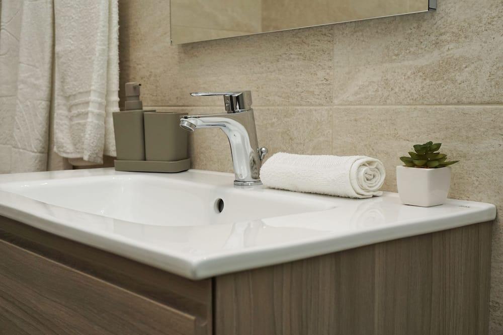 Chambre Double Confort, vue ville (Trullo) - Salle de bain