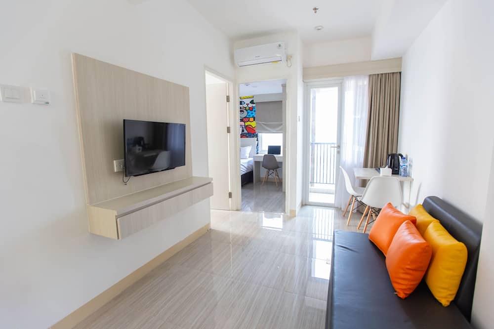 Habitación sénior doble - Sala de estar