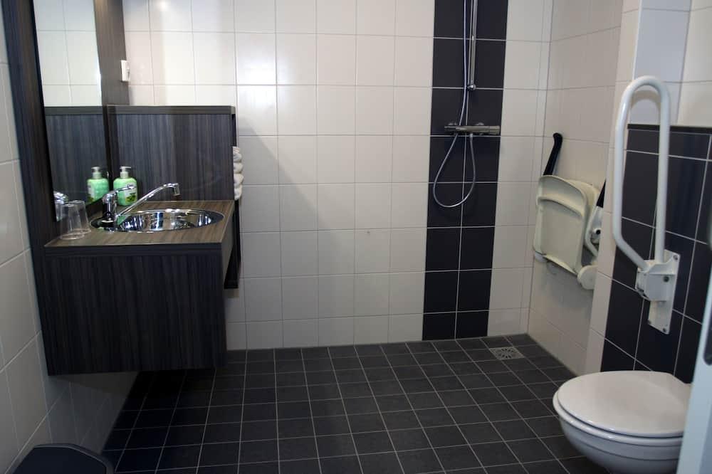 Standardna dvokrevetna soba, pristup za osobe s invalidnošću, pogled na park - Kupaonica