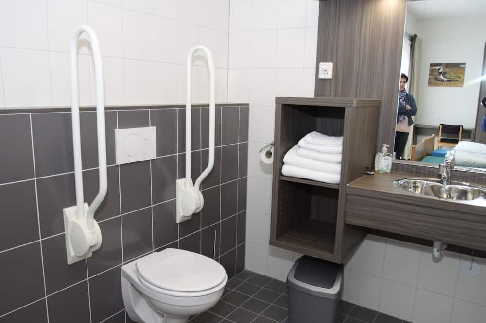 Comfort jednokrevetna soba, pristup za osobe s invalidnošću, pogled na park - Kupaonica