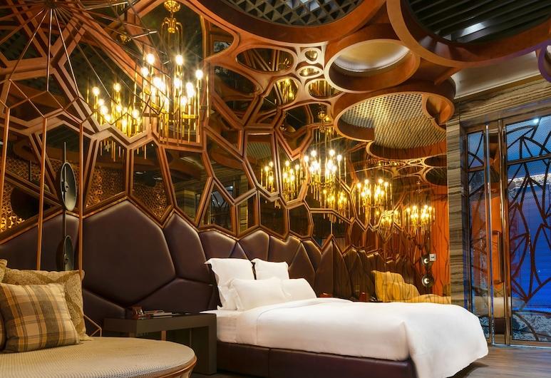 Royal Group Motel Jhong Hua Branch, Kaohsiung, Superior-herbergi með tvíbreiðu rúmi, Herbergi