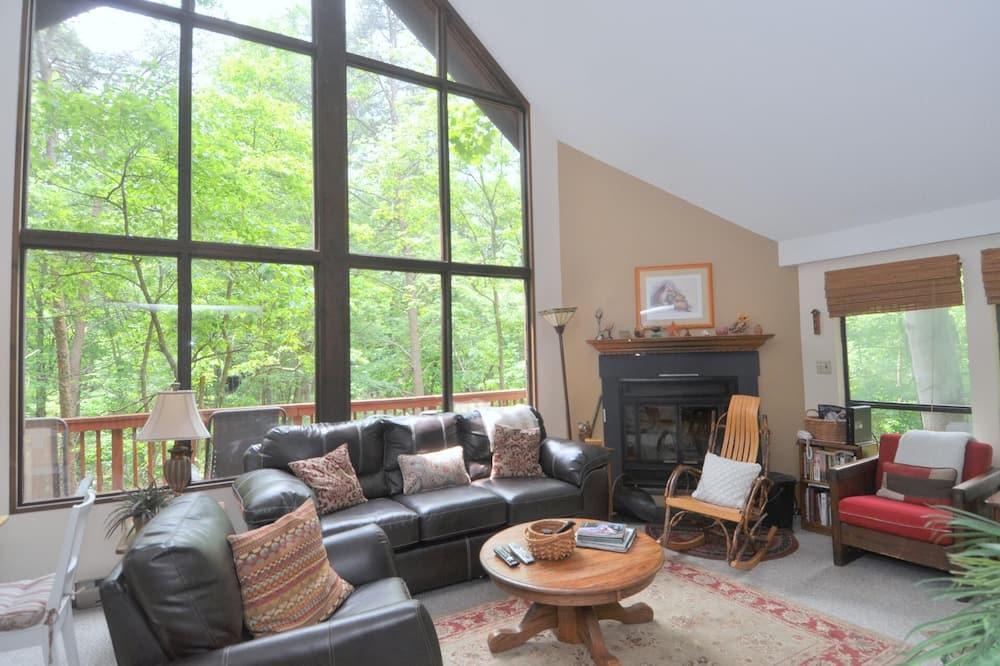 Cabaña, Varias camas (Fox Hollow) - Sala de estar