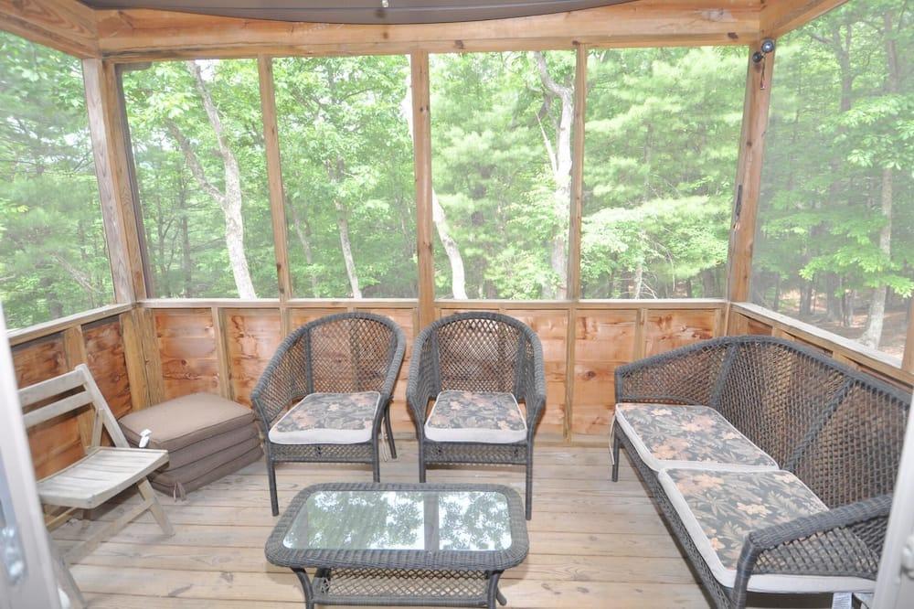 Ferienhaus, Mehrere Betten (Rivers Tranquility) - Balkon