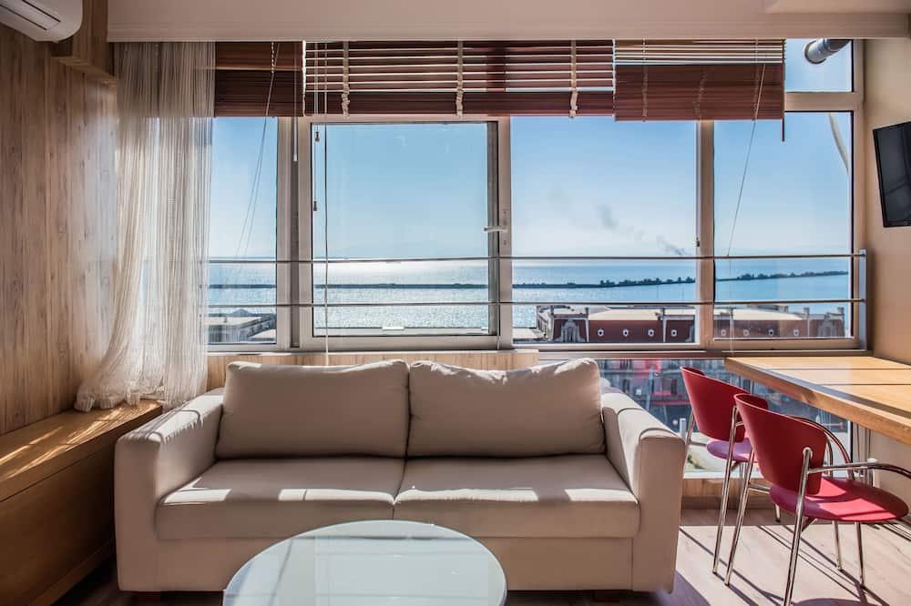 Апартаменти, 4 спальні, з видом на море - Житлова площа