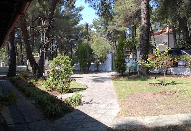 #halu! - Private Villa w Sea View, Kassandra, Ogród