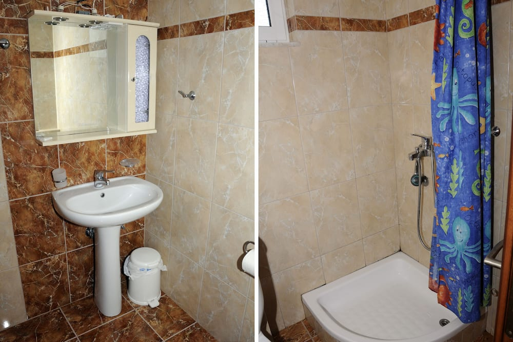 Apartment, Meerblick - Badezimmer