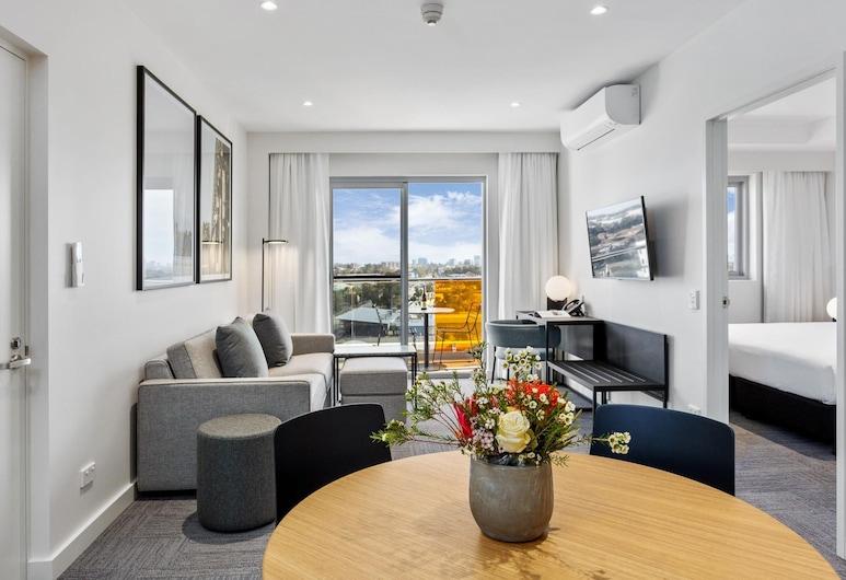 Quest Perth Ascot, Ascot, Apartamentai, 1 miegamasis, Svetainės zona