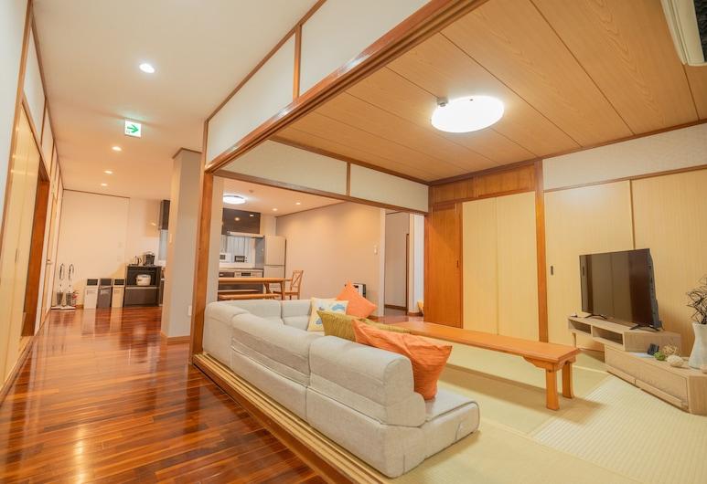 Dot House Naha , Naha, Family Apartment, Living Area