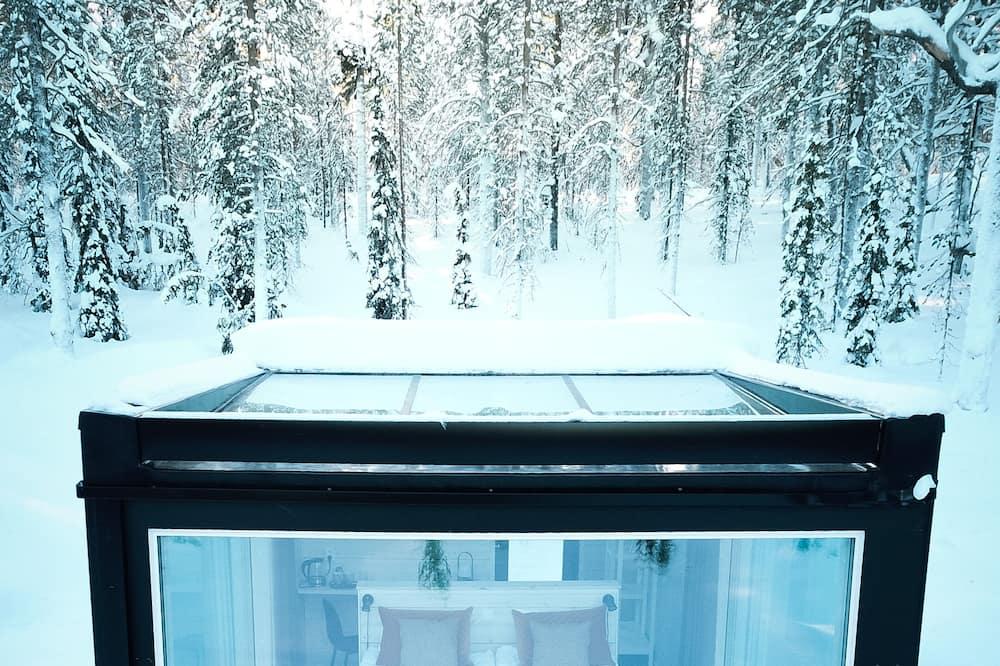 Glass Cabin - 山景