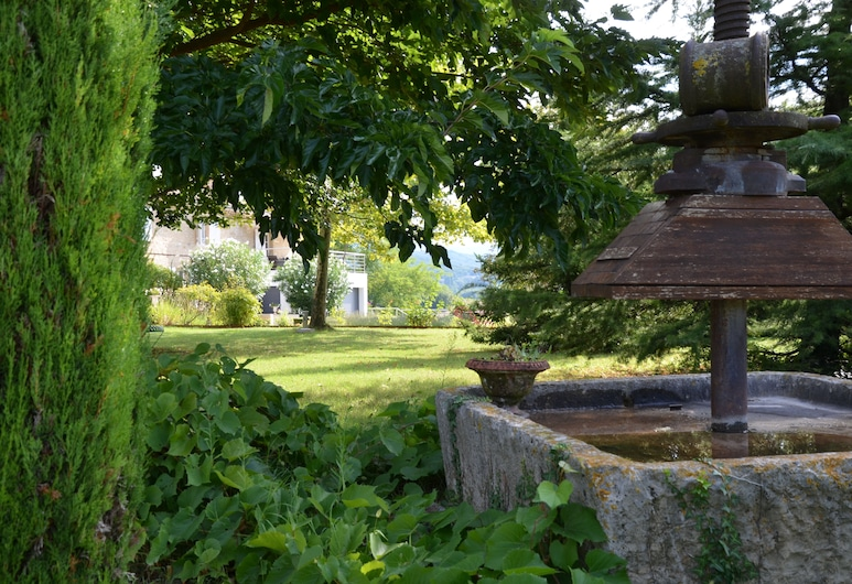 La petite Aiguebonne, Allex, Garden