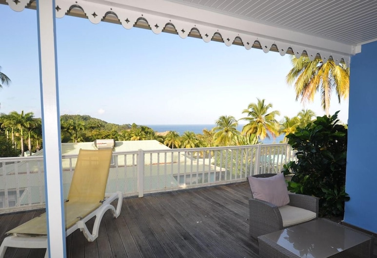 House With 2 Bedrooms in Sainte-marie, With Wonderful sea View, Shared Pool, Enclosed Garden, Sainte-Marie