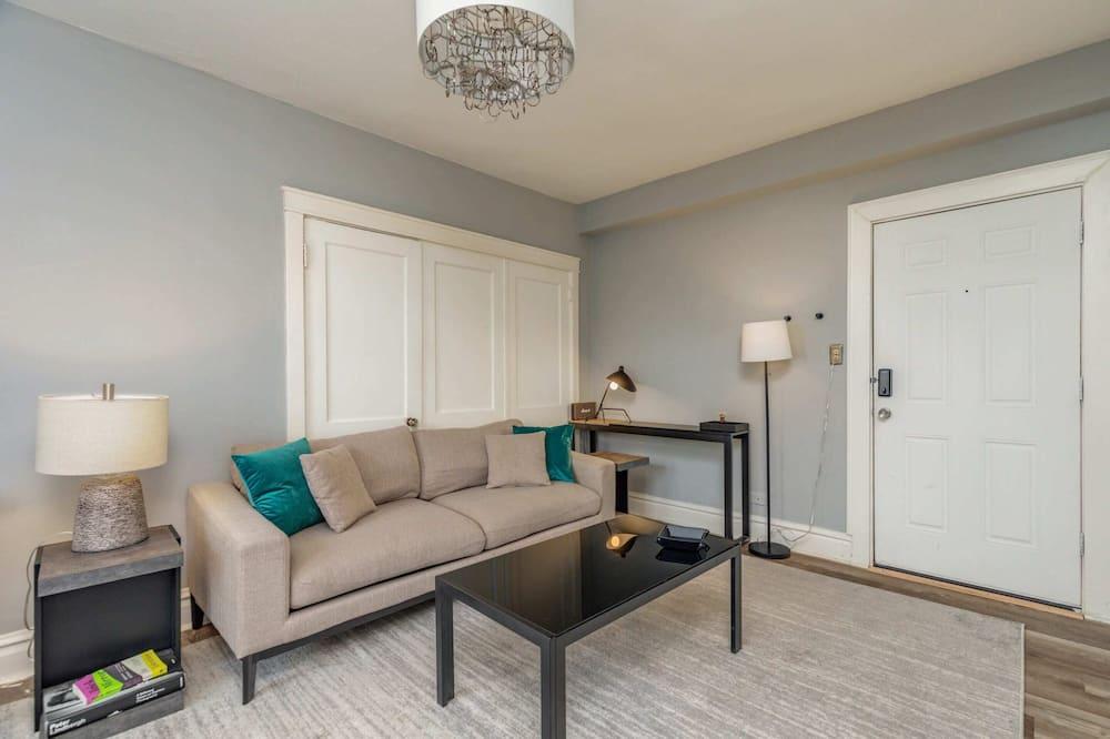 特色公寓, 1 張加大雙人床, 非吸煙房 (105789) - 客廳