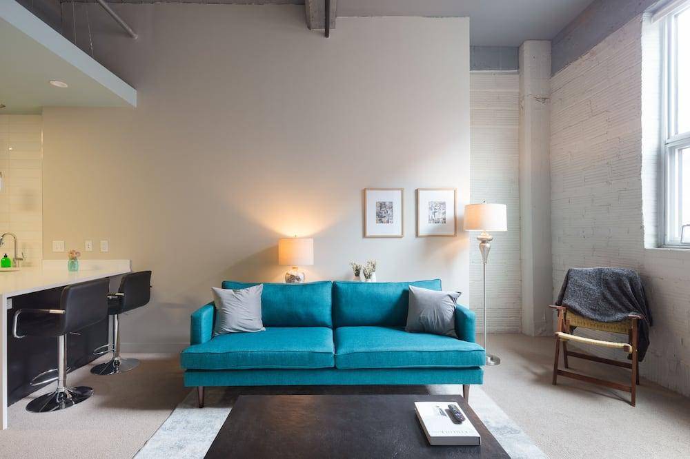 דירה, חדר שינה אחד, ללא עישון (120708) - סלון