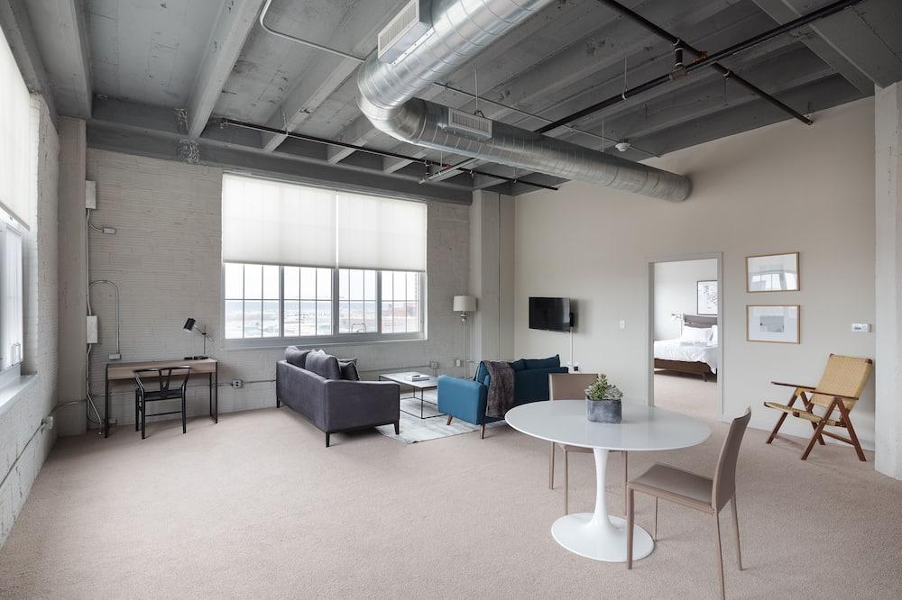 Departamento Prestigio, 2 habitaciones, para no fumadores (118896) - Sala de estar