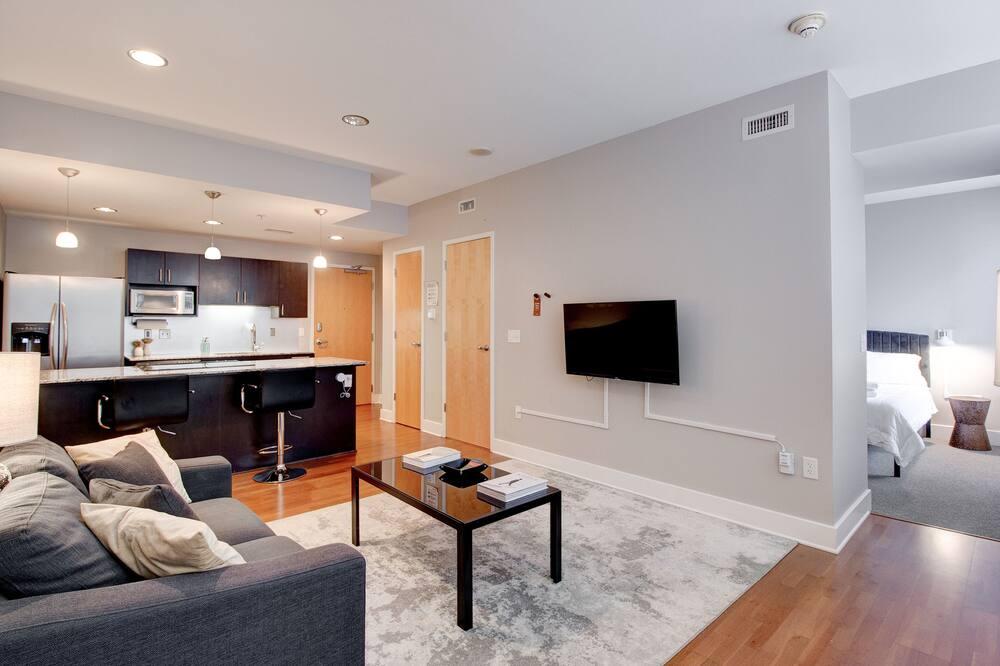 Departamento, 1 habitación, para no fumadores (121748) - Sala de estar