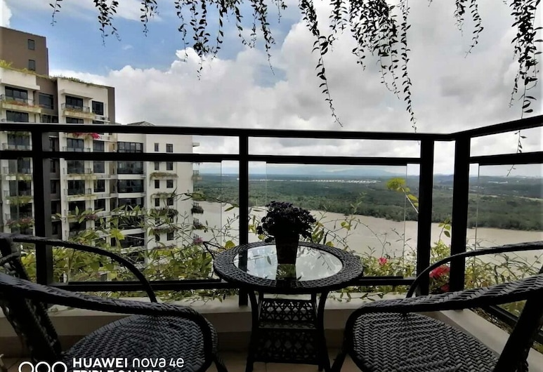 Forest City Ataraxia Park 1 by Wastone, Gelang Patah, Apartment, 2 Bedrooms (1F 3406), Balcony