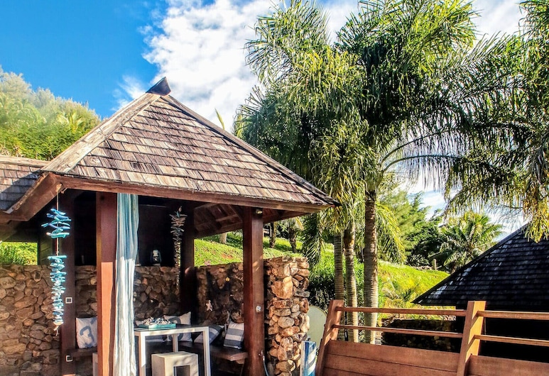 Moorea - Villa Mahana Legends Residence, Moorea-Maiao, SPA vonia lauke