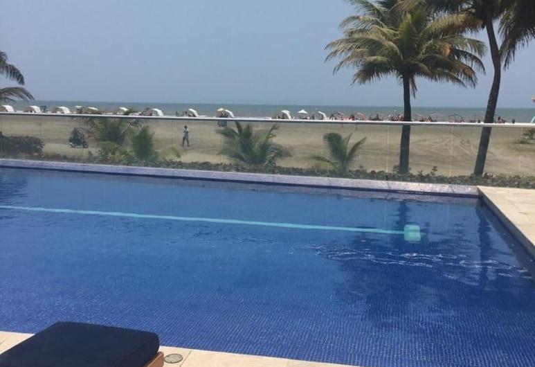 Vitri Cartagena Beachfront, Cartagena, Piscina con borde infinito