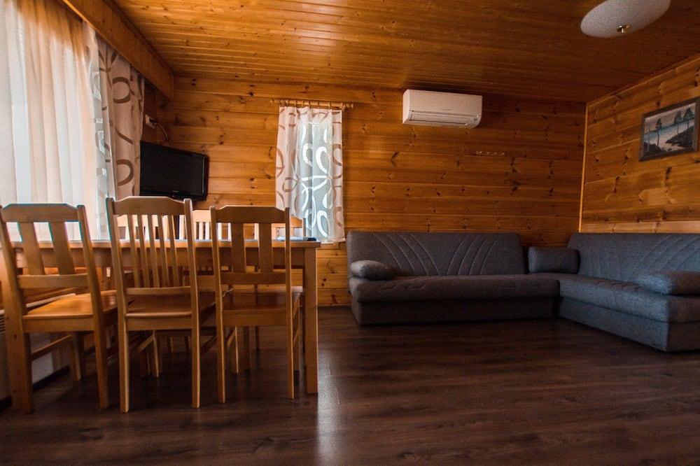 Alpehytte - 1 soveværelse - Stue