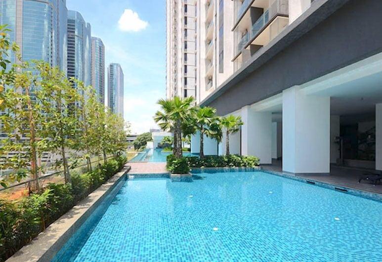 Bangsar SouthView Apartment by BeeStay, Kuala Lumpur, Açık Yüzme Havuzu