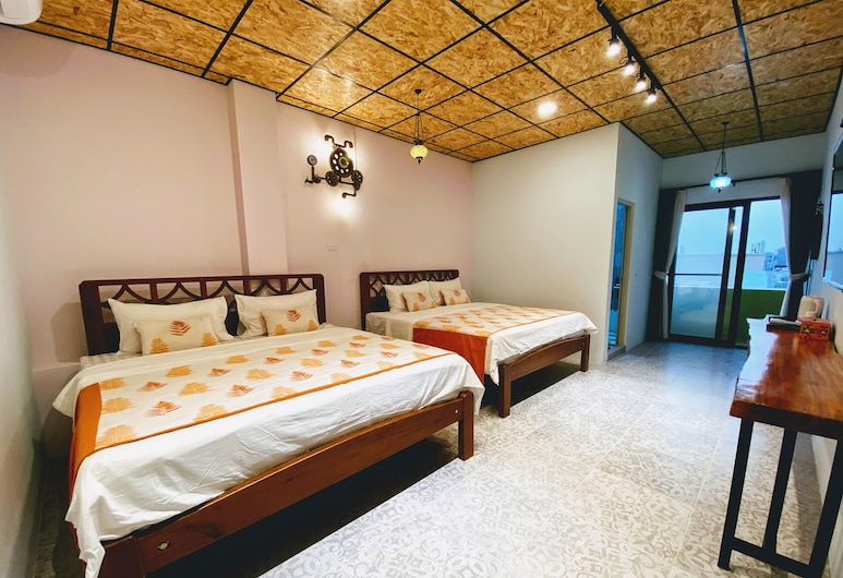 Clouds B&B, Lưu Cầu, Phòng 4 Senior, 1 phòng ngủ, Ban công, Quang cảnh biển, Phòng