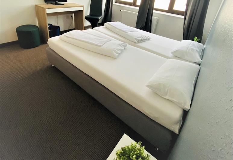 Hammebrook Hostel Hamburg, Hamburg, Basic szoba kétszemélyes ággyal, Vendégszoba