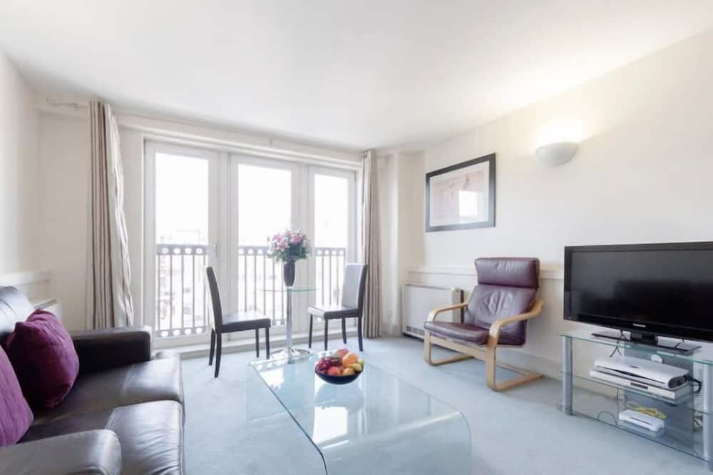 Appartement, 2 eenpersoonsbedden - Woonruimte