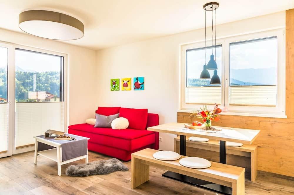 พาโนรามิกอพาร์ทเมนท์, 2 ห้องนอน - ห้องนั่งเล่น