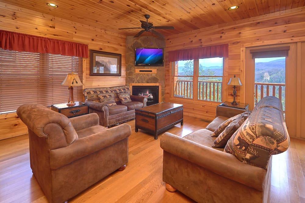 Cabaña, 4 habitaciones - Sala de estar