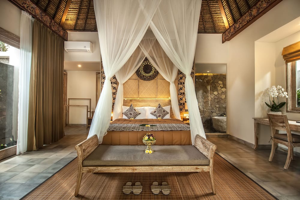 One Bedroom Private Pool Villa - Guest Room