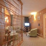 Dizaina dzīvokļnumurs, virtuve - Dzīvojamā istaba