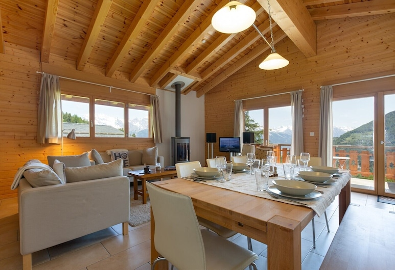 Chalet Pasche - Newly Build, Perfect for Families, Riddes, Bilik Rehat