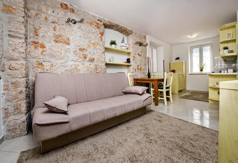 Apartments Casa Flores, Rovinj, Apartment, 1 Bedroom, Ruang Tamu