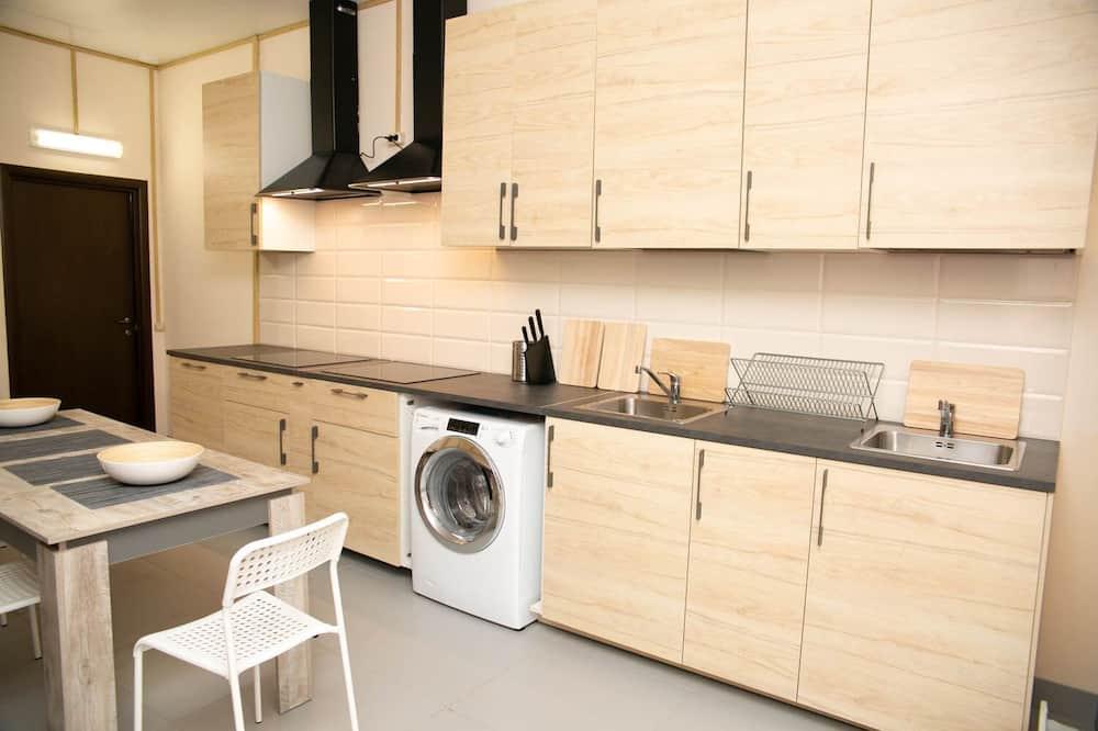 Dormitorio compartido, solo para hombres (Bed in 10-bed Room) - Cocina compartida