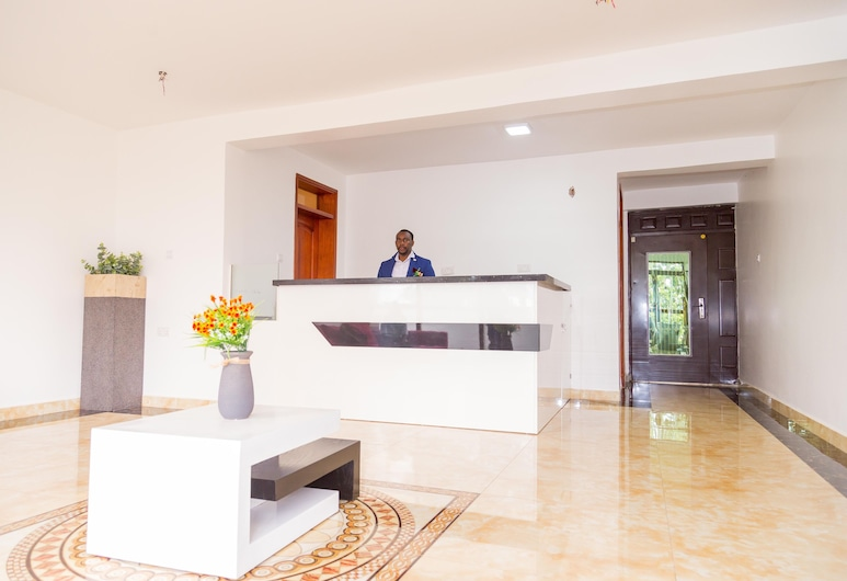 Marahaba Apartment Hotel, Kampala, Resepsiyon