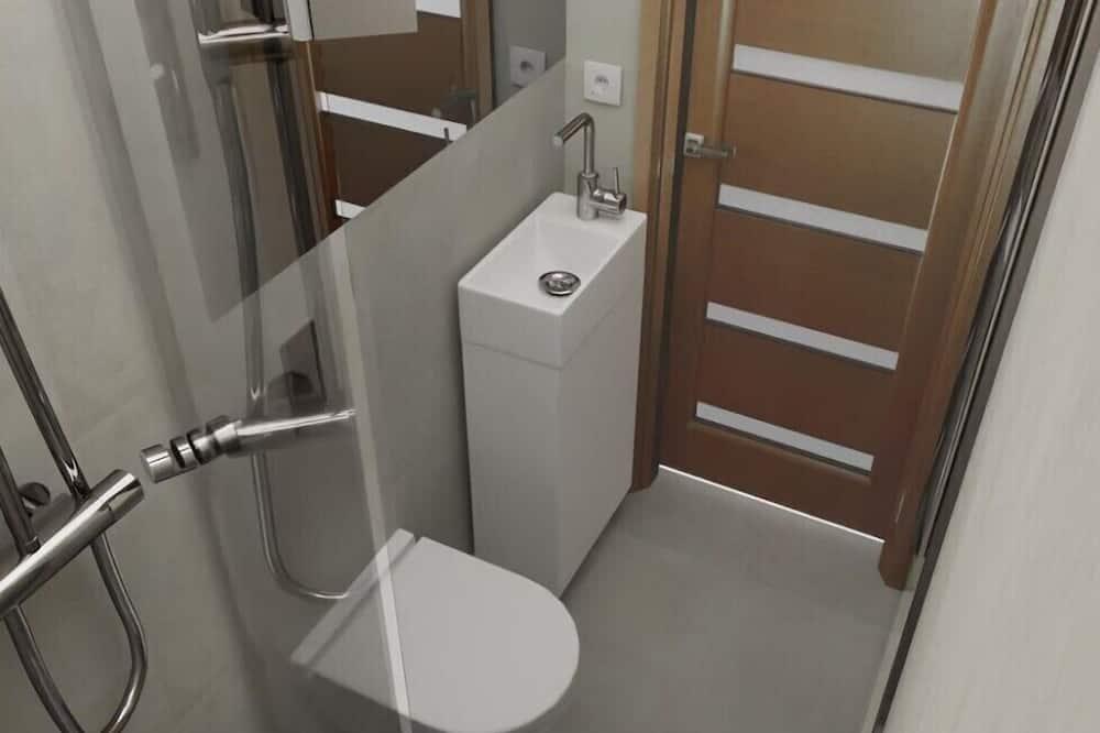 開放式客房 - 浴室
