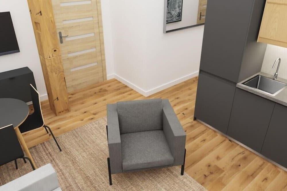 Apartment, 2Schlafzimmer - Wohnzimmer