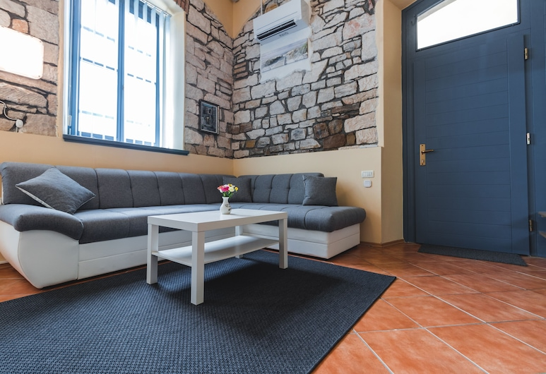 Apartments Pri Mari, Piran, Apartmán (Duplex 4), Obývací pokoj