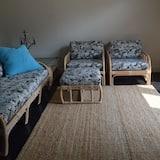 舒適套房, 1 間臥室, 廚房 - 客廳