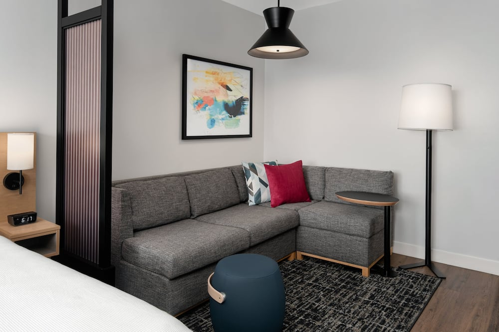 Room, 1 King Bed with Sofa bed (Specialty) - Living Area