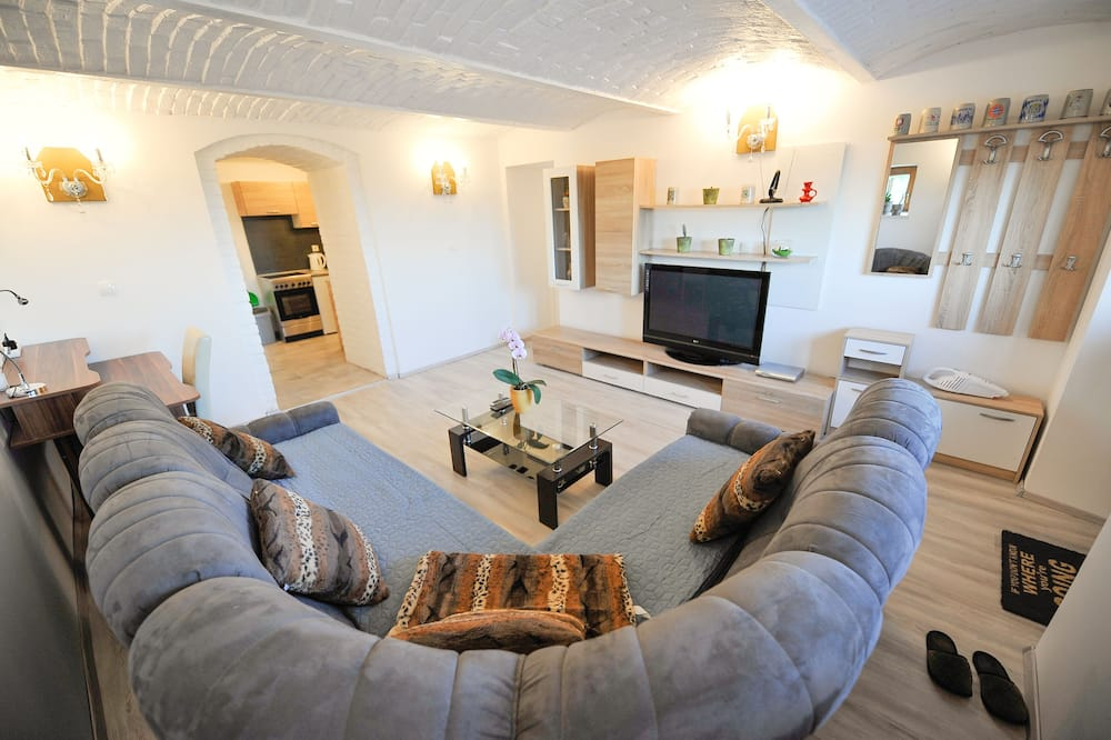 Apartment (One Bedroom Apartment Silvester) - Living Room