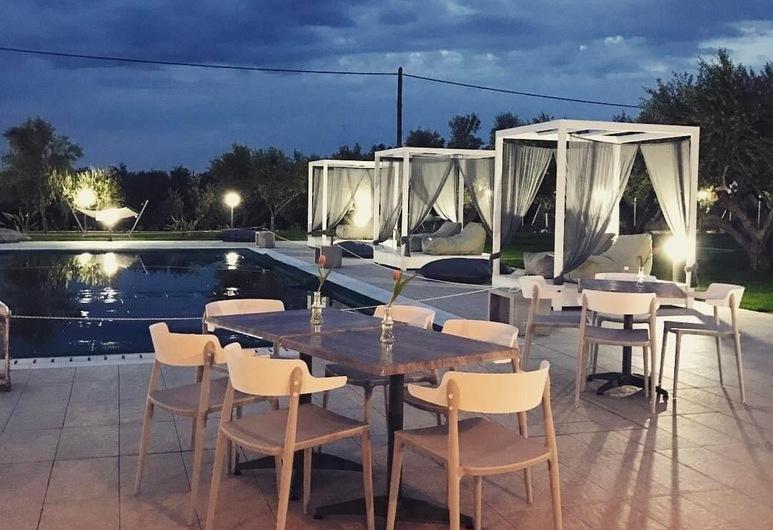 Messinian Horizons, Trifylia, Fachada do Hotel