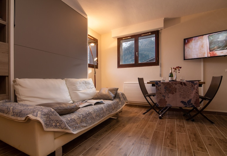 Appartement Plein Sud 23, Les Houches, Apartment, 1 Bedroom, Living Area