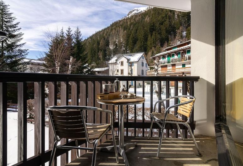 Résidence Coeur d'Argentière 101, Chamonix-Mont-Blanc, Апартаменты, 1 спальня, Балкон