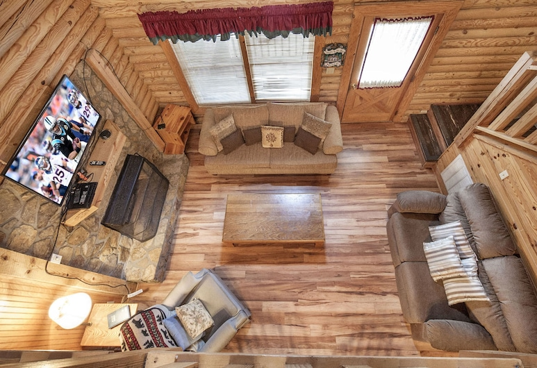 Country Days by Eagles Ridge Resort, Pigeon Forge, Cabin, 2 Bedrooms, Bilik Rehat