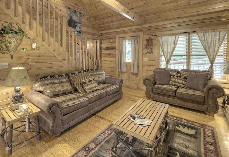 Heavenly Heights by Heritage Cabin Rentals, Gatlinburg, Stuga - 2 sovrum, Vardagsrum