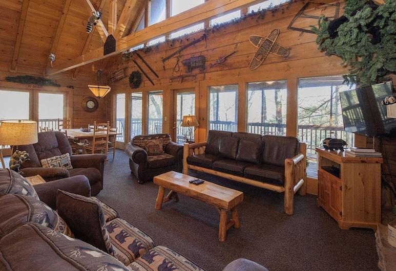 Hibernation Hideaway by Eagles Ridge Resort, 皮格佛格, 小屋, 5 間臥室, 客廳